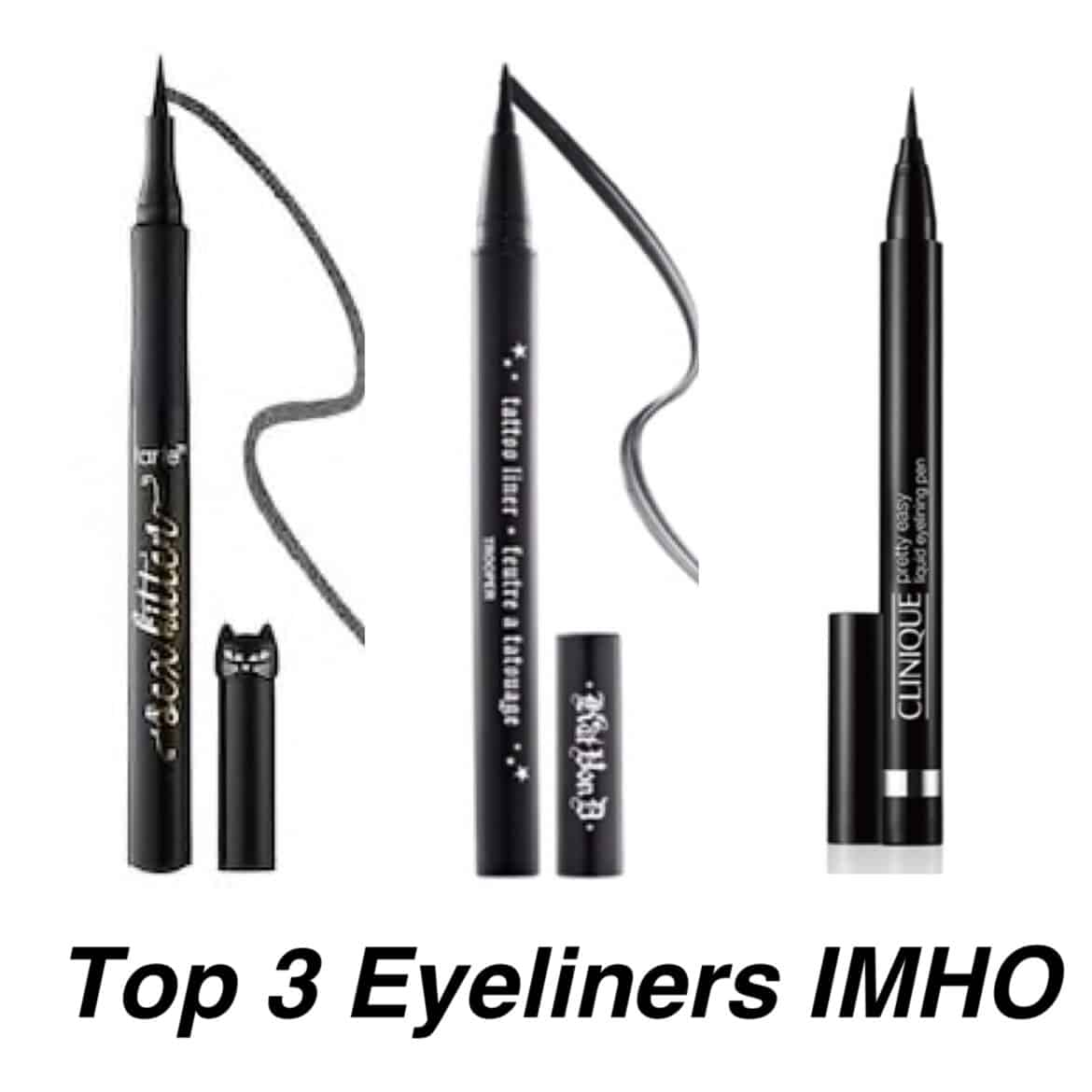 3 best Eyeliners for sensitive eyes