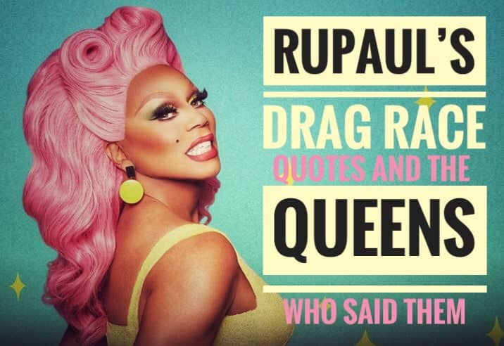 Rupauls drag race quotes