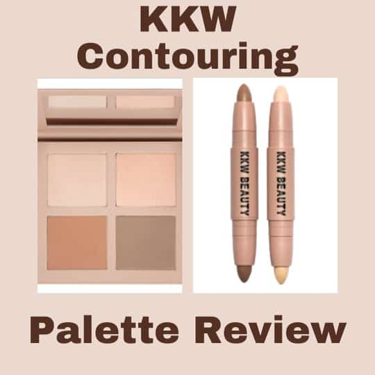 KKW Contouring Palette Review