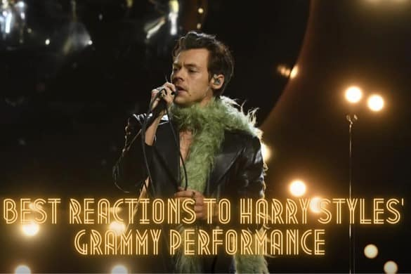 BEST REACTIONS TO HARRY STYLES' GRAMMY PERFORMANCE