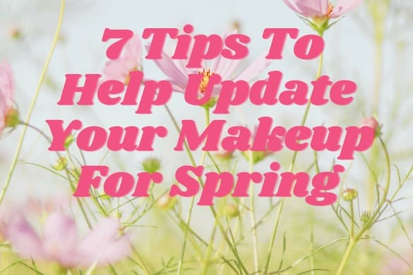 Update Your Makeup For Spring. Thanks for the background photo to J Lee @babybluecat for making this photo available freely on Unsplash